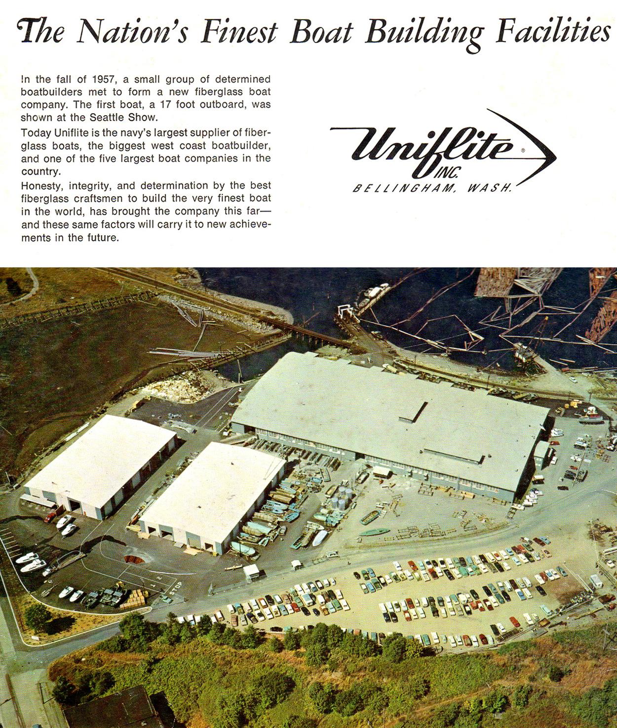 Uniflite History - Bellingham Boat Builders